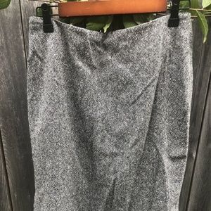 The Limited Skirt Size 8 Wool Blend